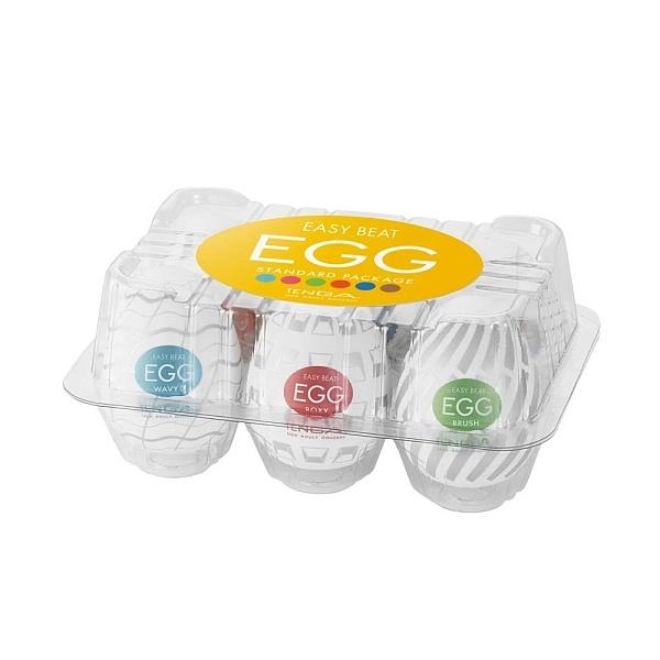 Набор яиц-мастурбаторов Tenga Egg №3, 6 шт